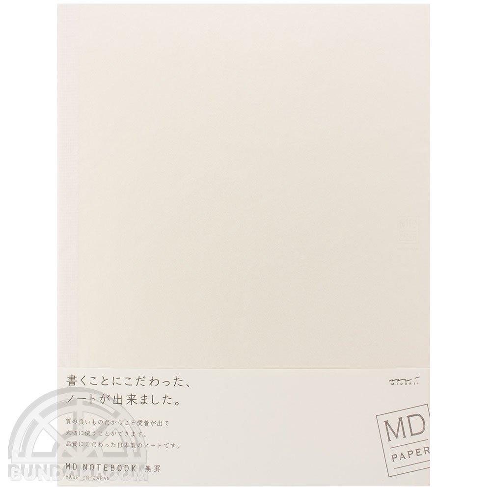 【MIDORI/ミドリ】MDノート・A4変形版(無罫)