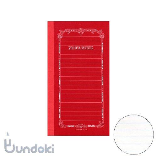 【ツバメノート】赤ツバメB6変形(横罫)