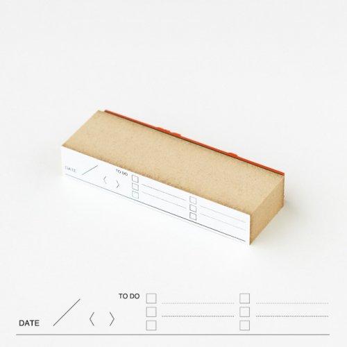 【水縞/mizushima】ハンコ ページヘッド TO DO