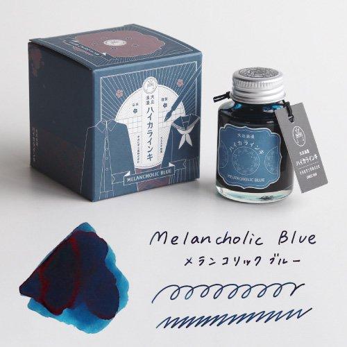 【寺西化学工業】ギター 大正浪漫 ハイカラインキ (メランコリックブルー)