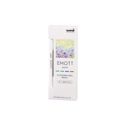 【三菱鉛筆/MITSUBISHI】EMOTT /エモットペンシル替芯 0.9mm (No.1 リフレッシュカラー)
