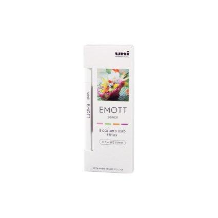 【三菱鉛筆/MITSUBISHI】EMOTT /エモットペンシル替芯 0.9mm (No.2 トロピカルカラー)