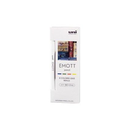 【三菱鉛筆/MITSUBISHI】EMOTT /エモットペンシル替芯 0.9mm (No.3 ノスタルジックカラー)