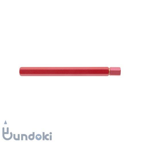 【物外】ystudio シャープ芯ケース 特別生産品(レッド)