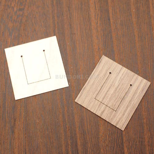 【e+m/イープラスエム】Quadro/木製クリップ