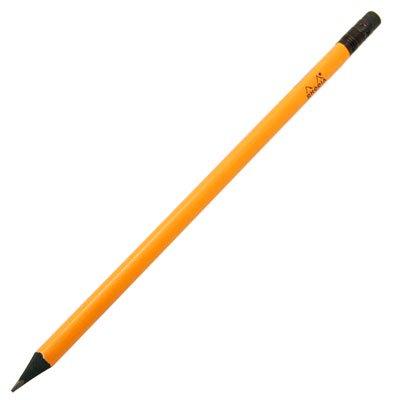 【Rhodia/ロディア】消しゴム付き三角鉛筆