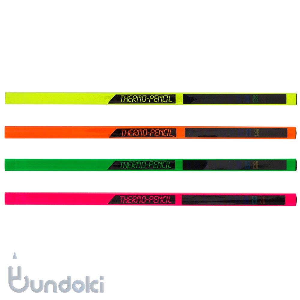 【キリン鉛筆】THERMO PENCIL/サーモペンシル(蛍光色)