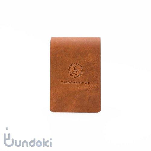 【Thinking Power Notebook】ローダー/ライモン用革製ソフトカバー(ブラウン)