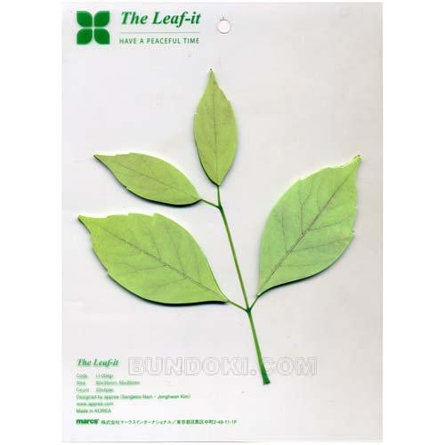 【marc's/マークス】The Leaf-it/葉っぱ型ふせん(Lサイズ)