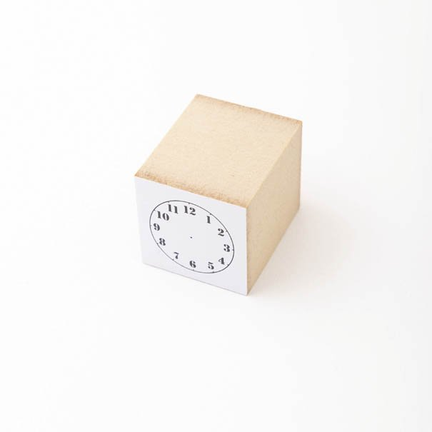 【水縞/mizushima】ハンコ 時計 S