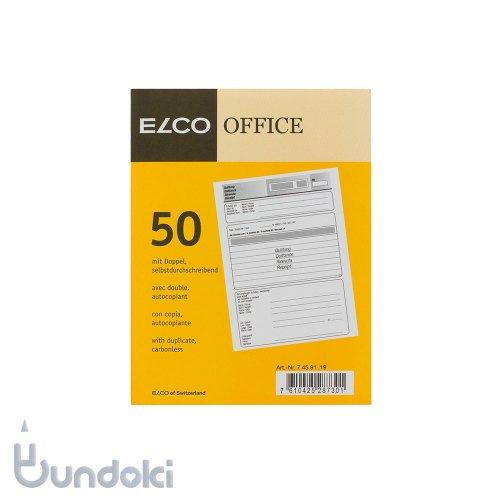 【ELCO/エルコ】領収書(Receipt)A6
