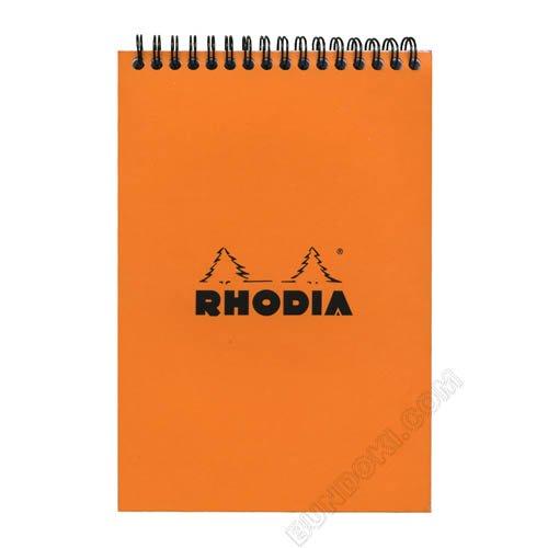【Rhodia/ロディア】notepad/クラシックノートパッドA5(縦開きリングメモ)