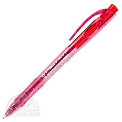 【STABILO/スタビロ】Liner 308 /ノック式ボールペン(レッド)
