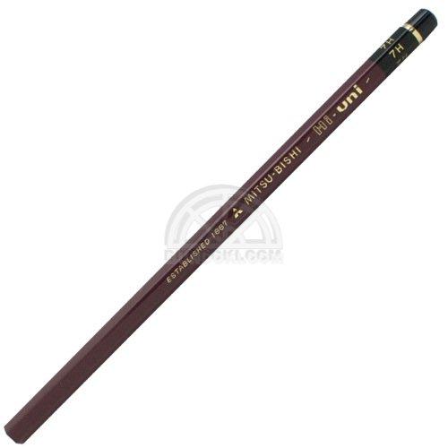 【三菱鉛筆/MITSUBISHI】Hi-uni/ハイユニ鉛筆(硬度:7H)
