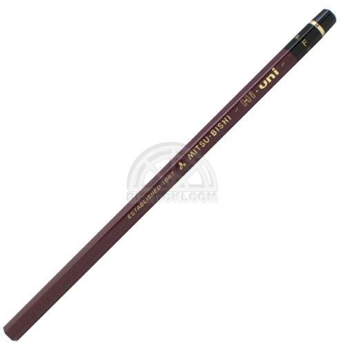 【三菱鉛筆/MITSUBISHI】Hi-uni/ハイユニ鉛筆(硬度:F)