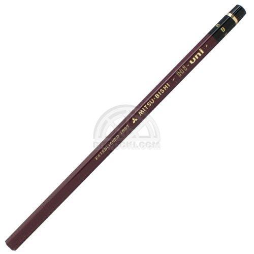 【三菱鉛筆/MITSUBISHI】Hi-uni/ハイユニ鉛筆(硬度:B)