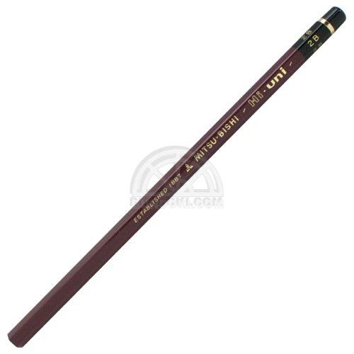 【三菱鉛筆/MITSUBISHI】Hi-uni/ハイユニ鉛筆(硬度:2B)