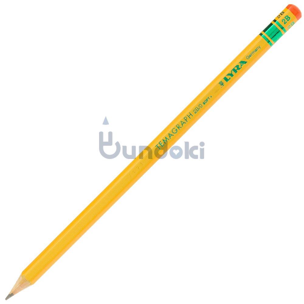 【LYRA/リラ】TEMAGRAPH/テマグラフ鉛筆 (硬度:2B)