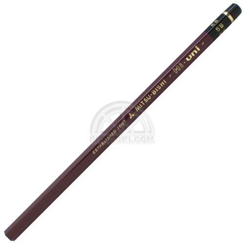【三菱鉛筆/MITSUBISHI】Hi-uni/ハイユニ鉛筆(硬度:5B)