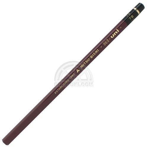 【三菱鉛筆/MITSUBISHI】Hi-uni/ハイユニ鉛筆(硬度:7B)