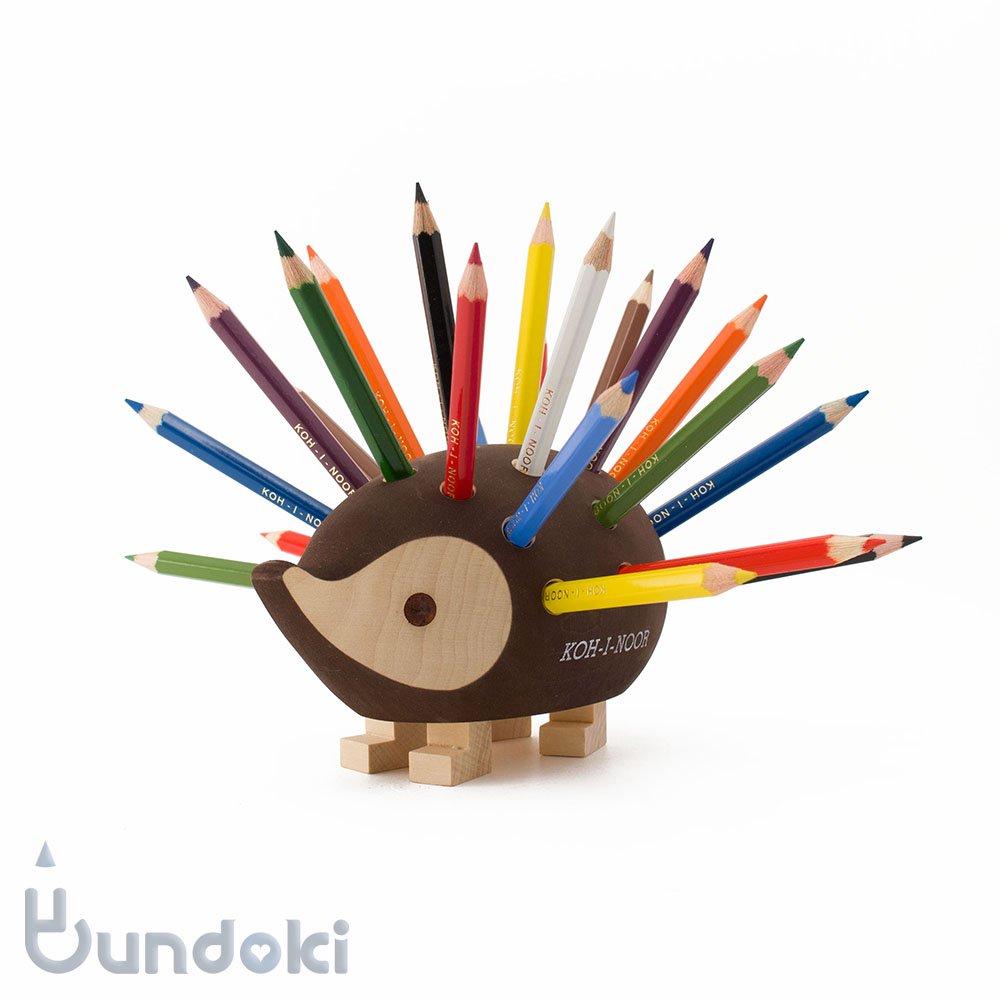 【KOH-I-NOOR/コヒノール】ハリネズミ型色鉛筆スタンド(小)