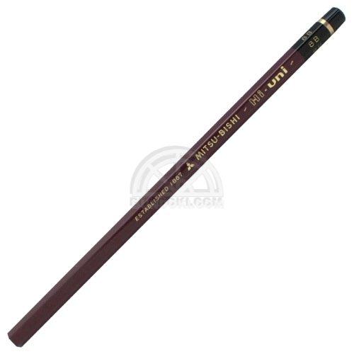 【三菱鉛筆/MITSUBISHI】Hi-uni/ハイユニ鉛筆(硬度:8B)