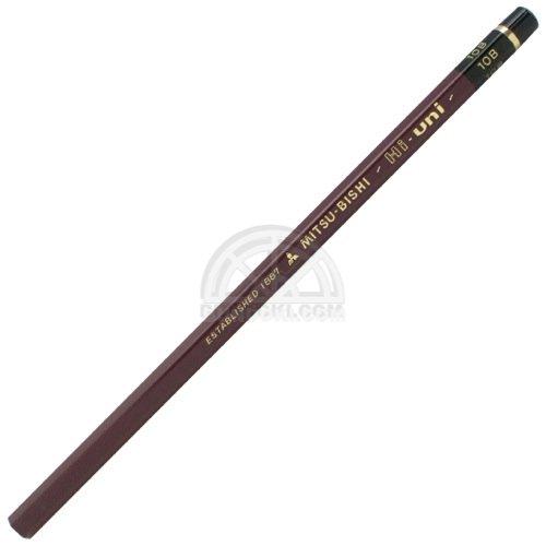 【三菱鉛筆/MITSUBISHI】Hi-uni/ハイユニ鉛筆(硬度:10B)