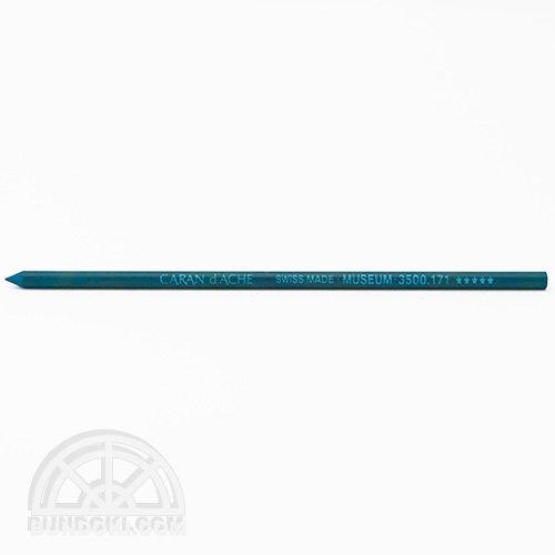 【CARAN D'ACHE/カランダッシュ】ミュージアム3.8ミリ替え芯(Turquoise blue)