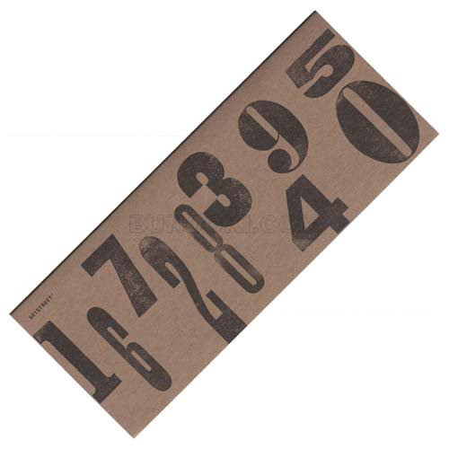 【Nuage/ニュアージュ】Sticky craft number(Lサイズ)