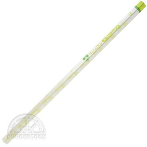 【三菱鉛筆/MITSUBISHI】かきかたナノダイヤえんぴつ六角(緑・B)