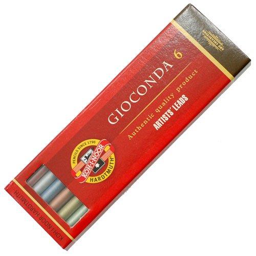 【KOH-I-NOOR/コヒノール】5.6ミリメタリックカラー芯6色セット