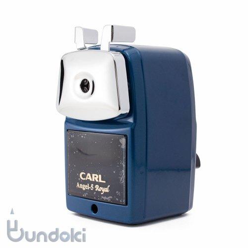 【CARL/カール事務機】Angel-5 ロイヤル/鉛筆削り器(ブルー)