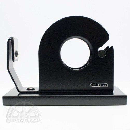 【LION/ライオン事務機】テープカッターNo.40/シングルタイプ(ブラック)