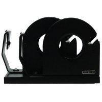 【LION/ライオン事務機】テープカッターNo.41/ツインタイプ(ブラック)