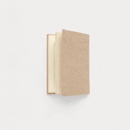 【SIWA・紙和】ブックカバー/文庫サイズ(レッド)