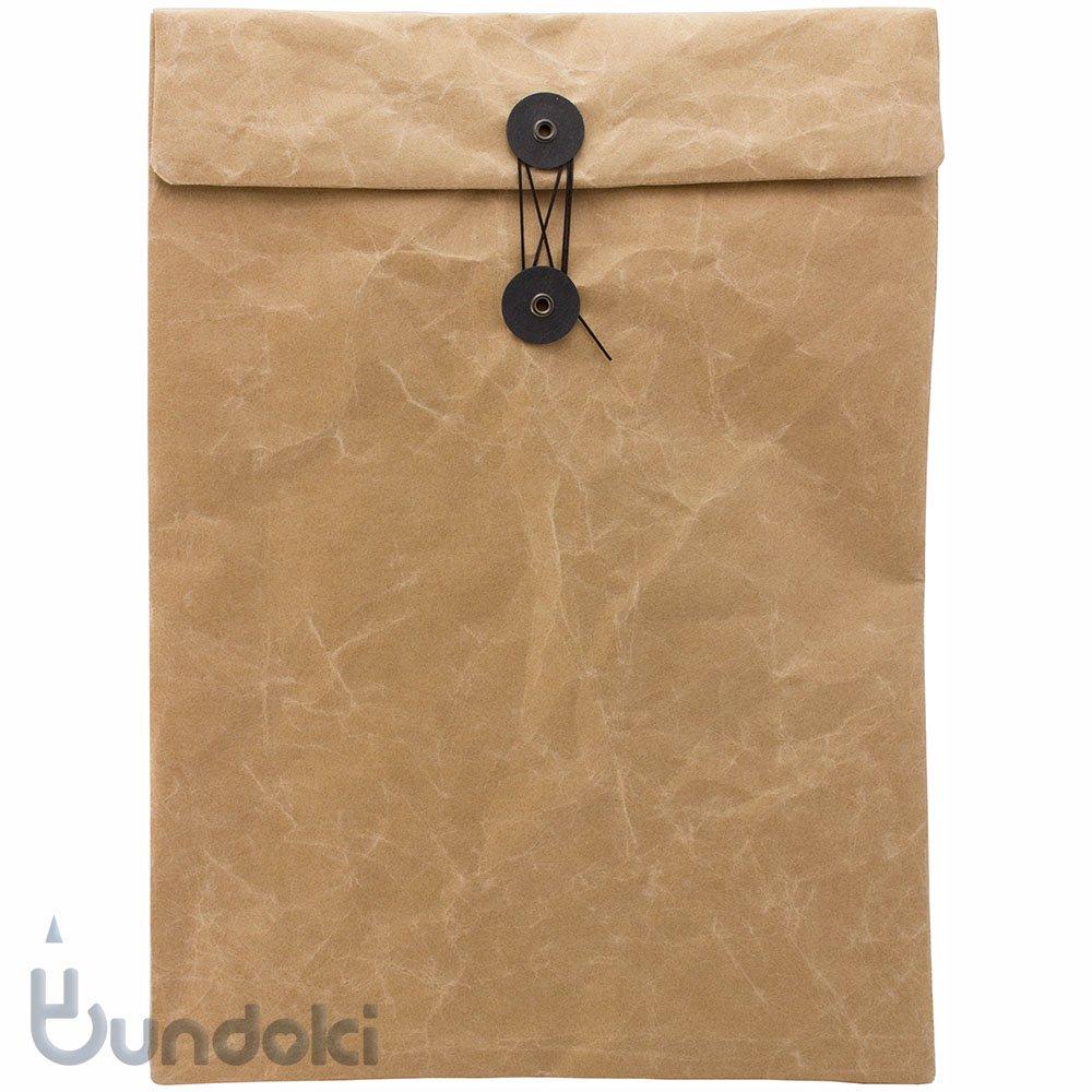 【SIWA・紙和】ひも付き封筒(ブラウン)