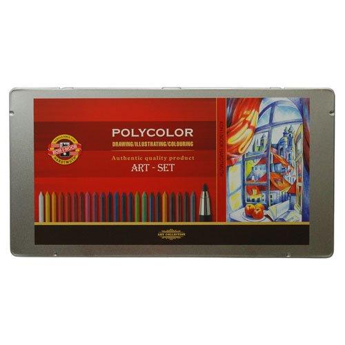 【KOH-I-NOOR/コヒノール】3.8ミリ芯ホルダー ART-SET(油彩・POLYCOLOR)