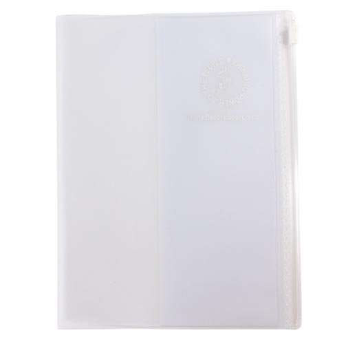 【Thinking Power Notebook】カンガルー・ジップ・カバー/A5サイズノート『ジャーニー』用