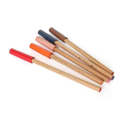 【カンダミサコ】革製鉛筆キャップ