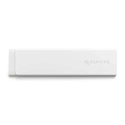 【METAPHYS/メタフィス】gum/薄型消しゴム(ホワイト)
