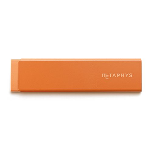 【METAPHYS/メタフィス】gum/薄型消しゴム(オレンジ)