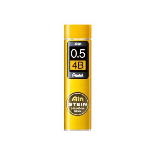 【Pentel/ぺんてる】Ain替え芯 STEIN/アインシュタイン(0.5mm/4B)
