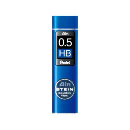 【Pentel/ぺんてる】Ain替え芯 STEIN/アインシュタイン(0.5mm/HB)