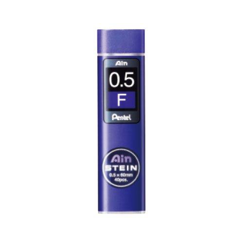 【Pentel/ぺんてる】Ain替え芯 STEIN/アインシュタイン(0.5mm/F)
