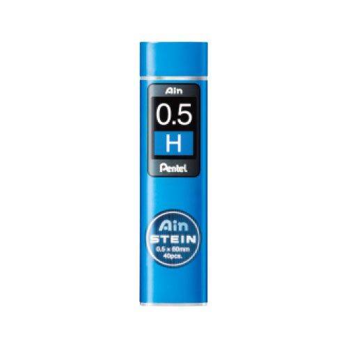 【Pentel/ぺんてる】Ain替え芯 STEIN/アインシュタイン(0.5mm/H)
