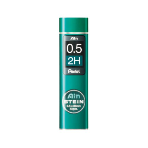 【Pentel/ぺんてる】Ain替え芯 STEIN/アインシュタイン(0.5mm/2H)