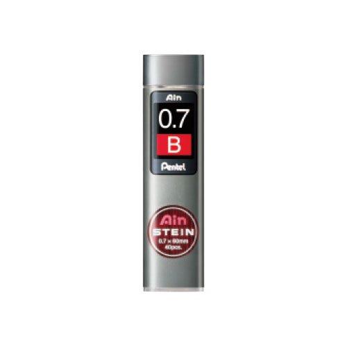 【Pentel/ぺんてる】Ain替え芯 STEIN/アインシュタイン(0.7mm/B)