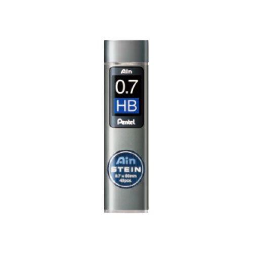 【Pentel/ぺんてる】Ain替え芯 STEIN/アインシュタイン(0.7mm/HB)