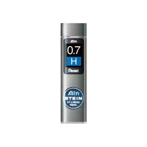 【Pentel/ぺんてる】Ain替え芯 STEIN/アインシュタイン(0.7mm/H)