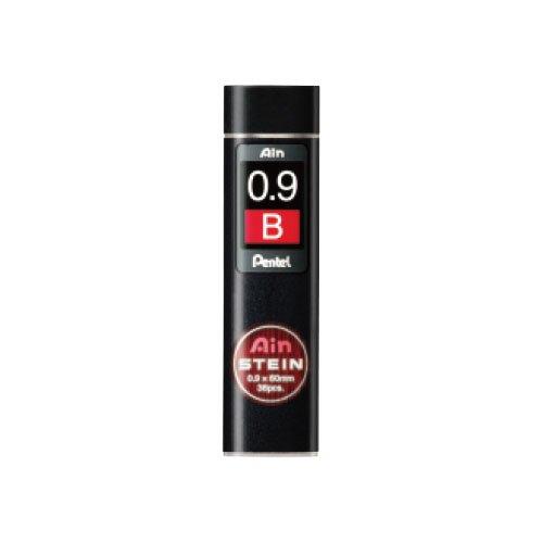 【Pentel/ぺんてる】Ain替え芯 STEIN/アインシュタイン(0.9mm/B)